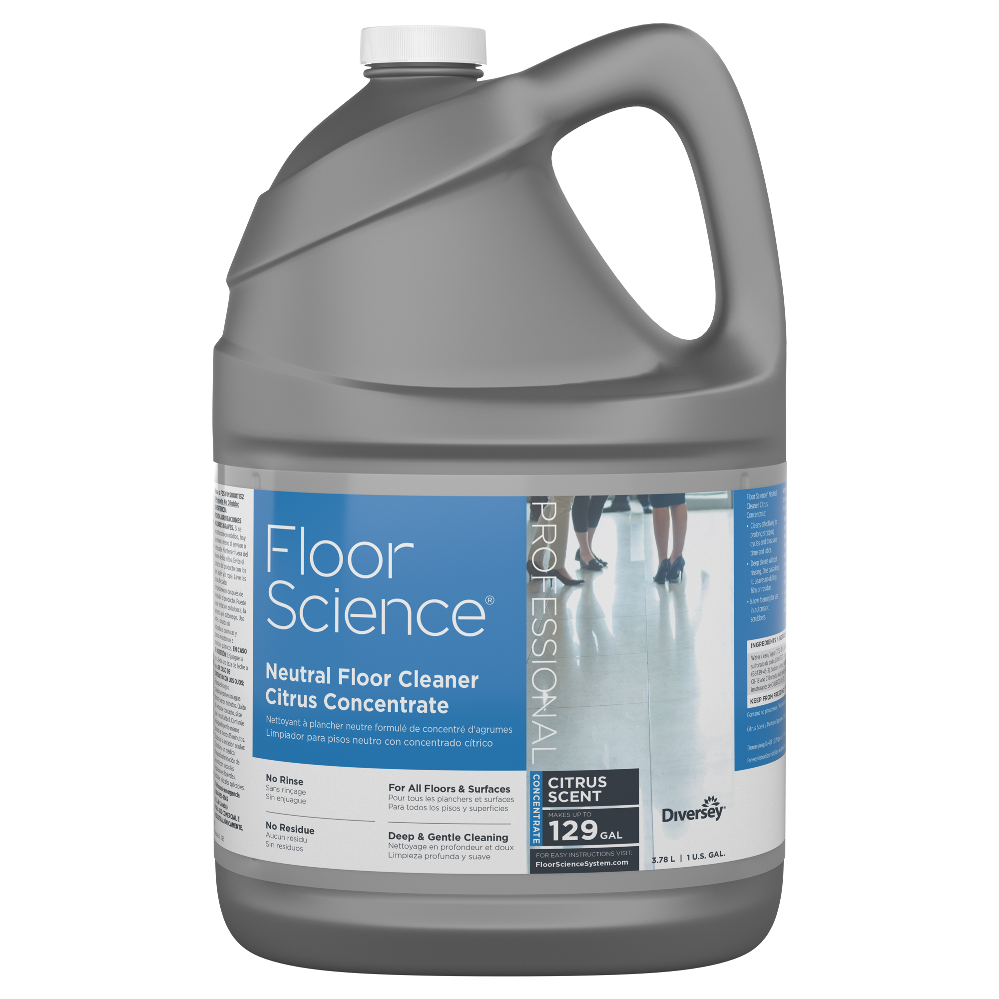 Floorscience Floor Science 174 Neutral Floor Cleaner Citrus
